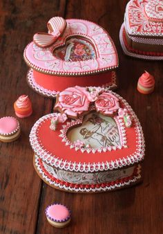 Amazing #Valentines #cookie boxes