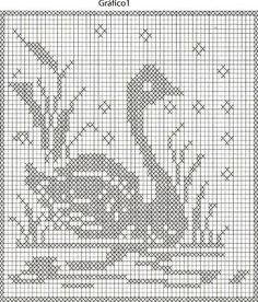 Tapete Cisne Criação e execução:  Maria Madalena      Medidas:  83cm x 67cm      Material:  Um cone de barbante Coats Corrente 4/4 cr, agul...