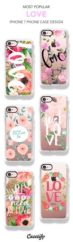 Most popular Love iPhone 7 and iPhone 7 Plus case. Shop them all here >   https://www.casetify.com/artworks/17XkXWg3pB