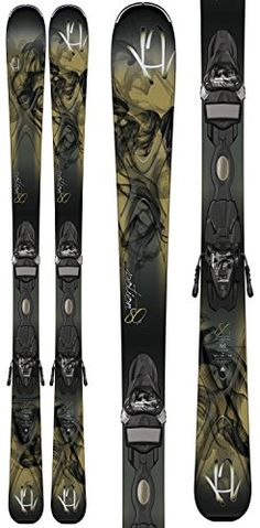 K2 Potion 80X Skis w Marker ER3 10 TC Bindings Womens Sz 167cm >>> More info could be found at the image url. (This is an affiliate link)