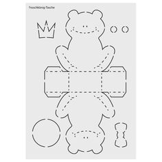 """Design template No. 8 """"Frog Prince bag"""", - Laser design template made of sturdy plastic, Frog prince bag. Baby Shower Backdrop, Baby Shower Balloons, Baby Shower Activities, Craft Activities, Baby Shower Checklist, Origami Box, Baby Shower Cupcakes, Baby Shower Cards, Baby Shower Centerpieces"""