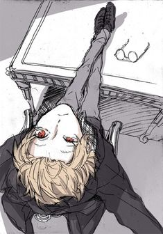 Glasses boy manga anime New Ideas Anime Boys, Hot Anime Boy, Manga Boy, Manga Anime, Blonde Hair Anime Boy, Black Haired Anime Boy, Black Hair Anime Guy, Character Art, Character Design
