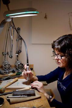 Jewelry Designer Krtistine Bolhuis / Crafted in Carhartt