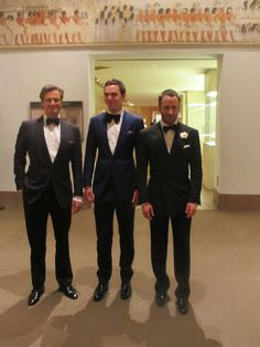 Colin Firth, Nicholas Hoult, Tom Ford, all in Tom Ford