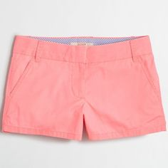"""J.Crew Factory 3"""" chino short ($20) ❤ liked on Polyvore featuring shorts, short shorts, short chino shorts, zipper shorts, j. crew shorts and chino shorts"""