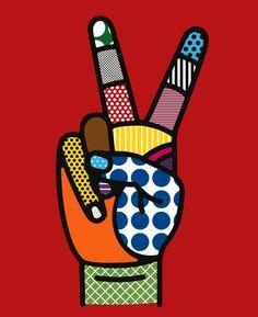 Pop Art by Roy Lichtenstein Art And Illustration, Pop Illustrations, Andy Warhol, Craig And Karl, Arte Pop, Art Furniture, Art Design, Interior Design, Art Plastique