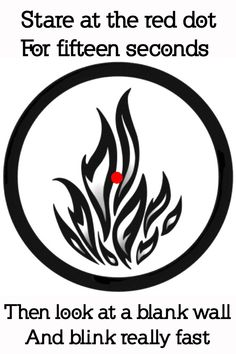 This is so cool. You can see the Dauntless' fire🔥🔥🔥 Divergent Symbols, Divergent Hunger Games, Divergent Fandom, Divergent Trilogy, Divergent Insurgent Allegiant, Divergent Dauntless, Eye Tricks, Mind Tricks, Weird Facts