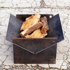 Tecton Steel Collapsible Fire Pit
