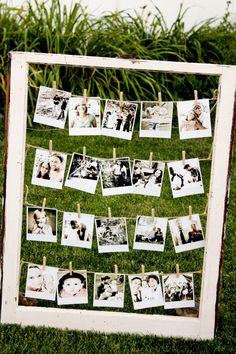 Polaroid Window Frame - I need a polaroid camera!