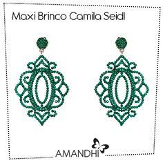 Maxi Brinco Vazado Camila Seidl | Amandhí | www.amandhi.com |