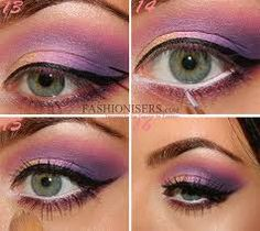 make up eyeshadow steps - Google Search