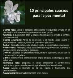 #UniversoDeAngeles Mi selección de los diez principales cuarzos para la paz mental.   Con amor,  Marcela