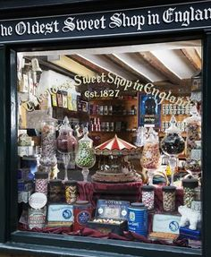 The Oldest Sweet Shop in England first opened in 1827!