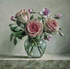 fasci-arte: Pieter Wagemans fasci-arte.blogspot.com850 × 837Buscar por imagen Alguno de sus cuadros parece querer que sintamos la sensación de poder tomar la flor y aspirar su aroma.