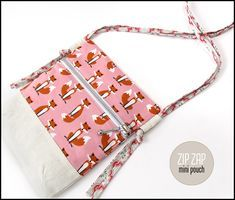 Zip Zap Mini Zipper Pouch   Sew4Home