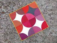 Oakshott Ruby Mini Quilt Challenge + Fabric Giveaway: Jen from BettyCrockerAss