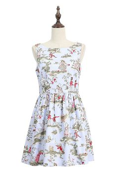 Castle Story Cute Retro Sundress : The Art of Vintage-inspired & Cute Women's Clothing | Larmoni