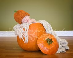 baby in pumpkin pictures - Google Search