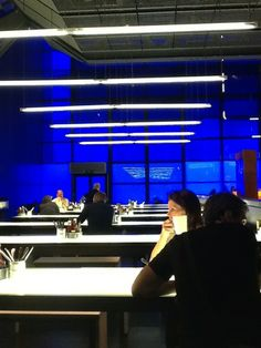 The Deep Blue café at the Science Museum is an award-winning family restaurant, offering activity boxes to keep younger children entertained.