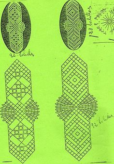 Weaving Patterns, Lace Patterns, Bobbin Lace, Couture, Bookmarks, Tatting, Album, Crochet, Projects