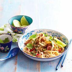 Low-Fat Vegetarian Pad Thai