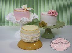 Lemon Cakes with Coconut Lemon Curd SMB