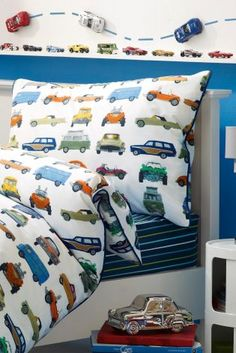 Buy Vintage Car Cotton Rich Print Bed Set online today at Next: Israel