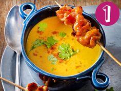 An ungemütlichen Herbsttagen hebt eine heiße Suppe schnell die Stimmung. Unsere Top 5 Herbstsuppen zum Aufwärmen und Genießen.