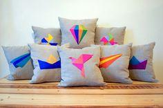 Almofada origami
