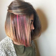18 Rainbow Hairstyles Prettier Than an Easter Egg via Brit + Co                                                                                                                                                                                 More