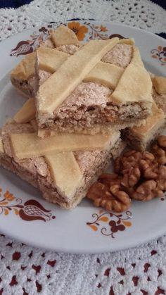 Diós mágnás szelet French Toast, Breakfast, Food, Morning Coffee, Meal, Essen, Hoods, Meals, Morning Breakfast