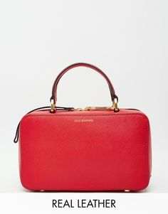 0833fe198a Lulu Guinness Leather Connie Lady Handheld Bag at asos.com
