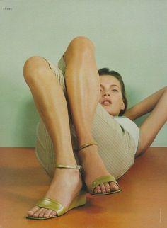 Kate Moss, a favor de Calvin Klein.