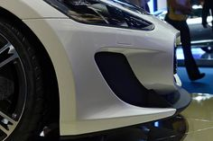 The #Maserati #GranTurismoMC Stradale's refined shape is designed both to please the eye and to optimise the aerodynamics.
