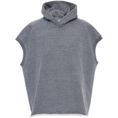 Fear of God Heavy Terry Muscle Hoodie (7.921.240 IDR) ❤ liked on Polyvore featuring men's fashion, men's clothing, men's hoodies, grey, mens grey hoodies, mens sweatshirts and hoodies and mens hoodies