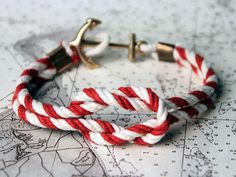 Nautical knot bracelet || Estilo marinero