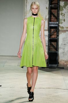 Proenza Schouler Spring 2013 - Stunning collection with incredible use of color.