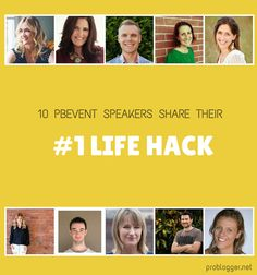 10 PBEVENT Speakers Reveal their #1 Life Hack