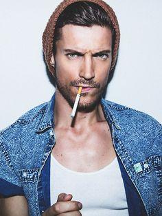 Magnificent Bastien Bonizec Male Models Glasses Denim Mens Hair Mens Hairstyle Inspiration Daily Dogsangcom
