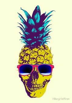 This...this is wrong.  ------------- Pineapple Skull by HilaryHeffron