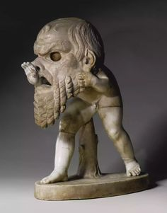 A marble figure of a