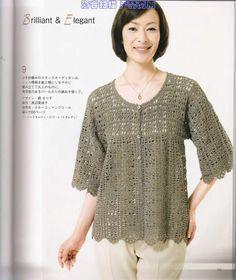 Irish crochet &: БЛУЗА