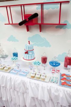 Vintage Aeroplane Party Birthday Party Party Ideas | Photo 3 of 12 | Catch My Party