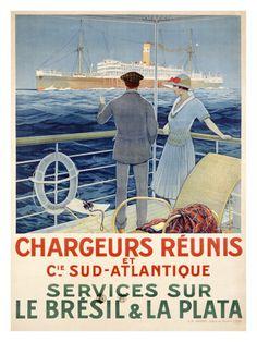 Chargeurs Réunis et Compagnie Sud-Atlantique.