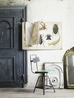 Why do I love such odd art, I want bugs like that throughout the house...but on paper, in frames, not crawling around.