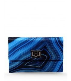 Anya Hindmarch Valorie Lapis Clutch
