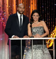 2016 SAG Awards: Show -  ~~~Julia Louis-Dreyfus and Keegan-Michael Key