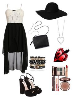 ~Occasion: Fashion show~ by crazytaylah-22 on Polyvore featuring Miu Miu, Samantha Wills, Monki and Charlotte Tilbury