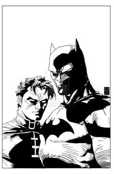 Batman, Robin, Jim Lee.
