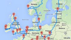 computing optimal road trip across europe